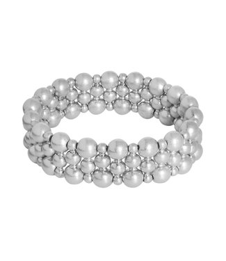 Sence Copenhagen Dance bracelet matt silver