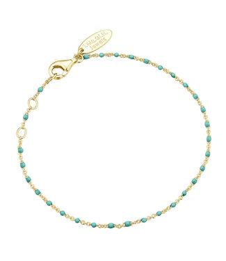 I.Ma.Gi.N. Jewels Armband Enamel Turquoise Yellow