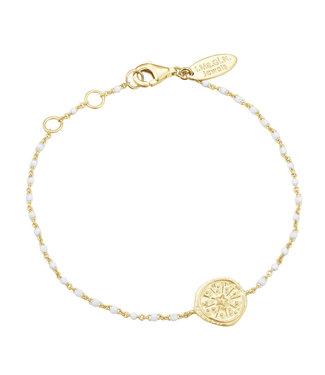 I.Ma.Gi.N. Jewels Armband Coin Enamel Gold
