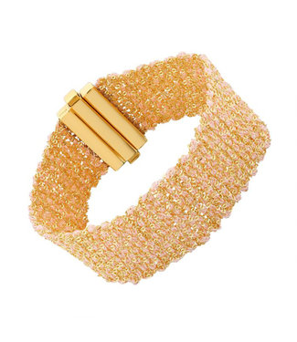 I.Ma.Gi.N. Jewels Armband Silky Salmon Gold