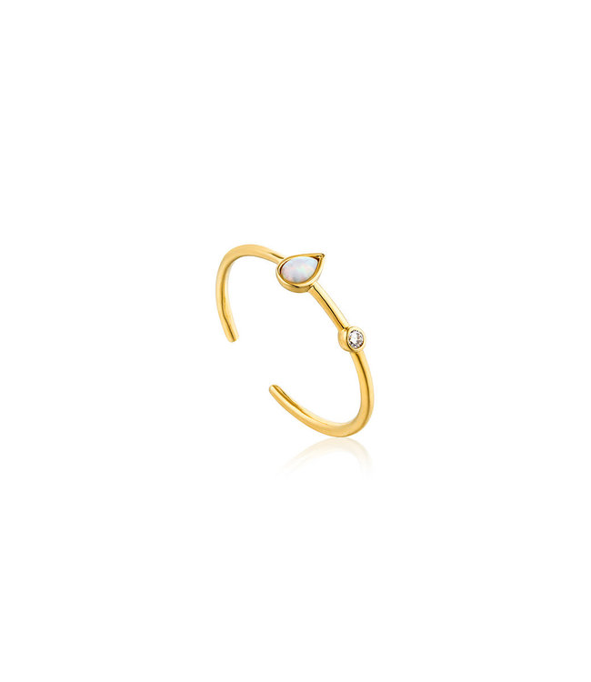 Ania Haie Ring Opal Colour Raindrop