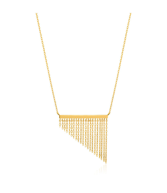Ania Haie Fringle Fall Necklace