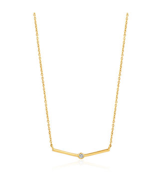 Ania Haie Shimmer Single Stud Necklace