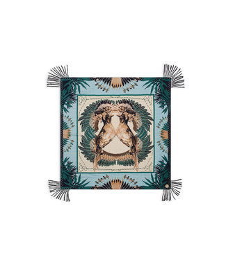 Hipanema scarf Exotic brids khaki