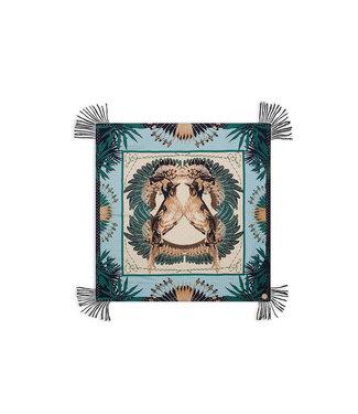 Hipanema Sjaal Exotic birds khaki