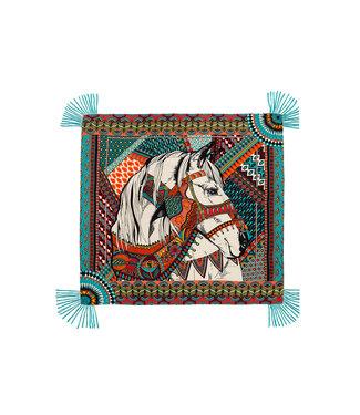 Hipanema scarf gypsyhorse blue