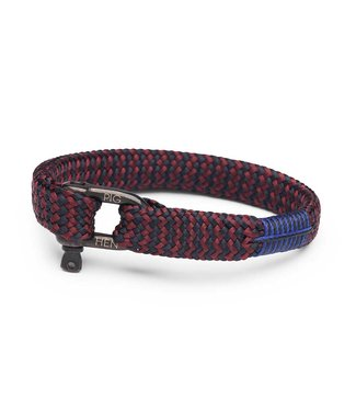 Pig & Hen Armband Sharp Simon Bordeaux Navy