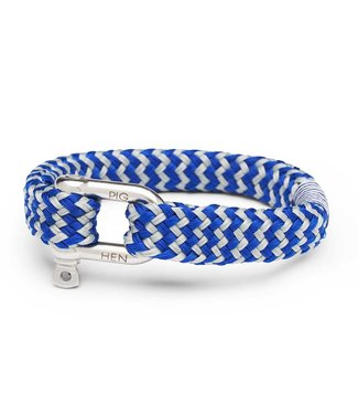Pig & Hen Armband Gorgeous George Cobalt Light Gray