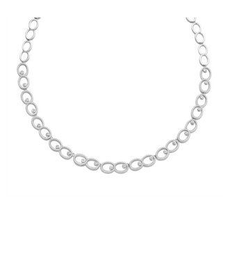 Silver Rose Halsketting Chaya