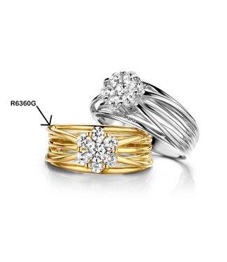 Silver Rose Ring Cornelia