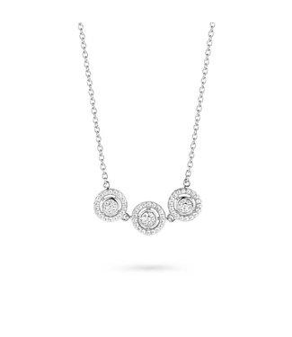Silver Rose Halsketting Vajèn