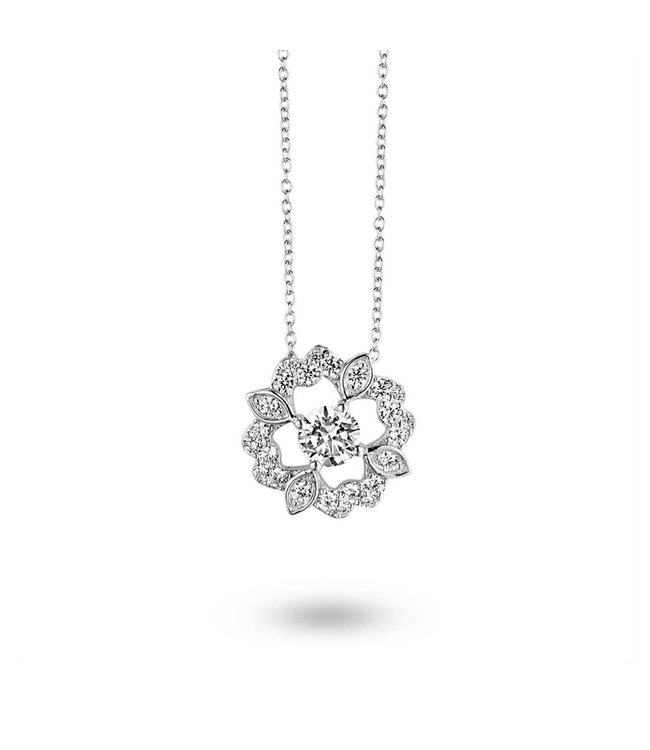 Silver Rose Halsketting Femke