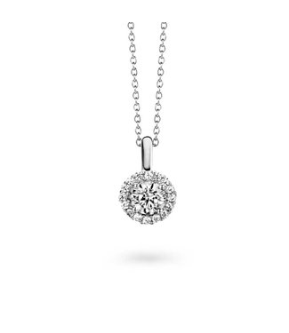 Silver Rose Halsketting Jasmijn