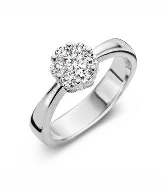 Silver Rose Ring Valentina