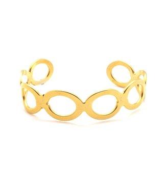 TAIM Armband Enora Gold