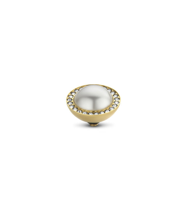 MelanO Zetting TW Pearl and cz stone