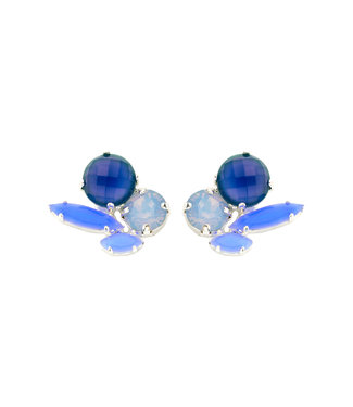 Souvenirs de Pomme Oorring Cleo Short Grey blue