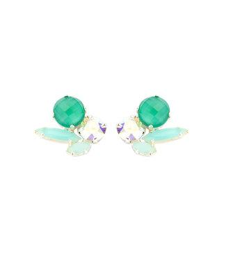 Souvenirs de Pomme Oorring Cleo Short Green