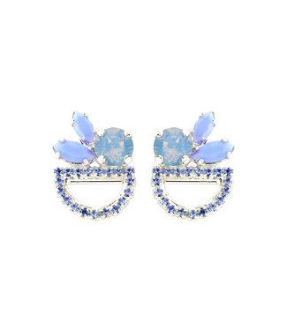 Souvenirs de Pomme Oorring Moon Shortie Light blue