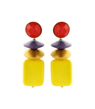 Souvenirs de Pomme Oorring Oceane Mix Yellow