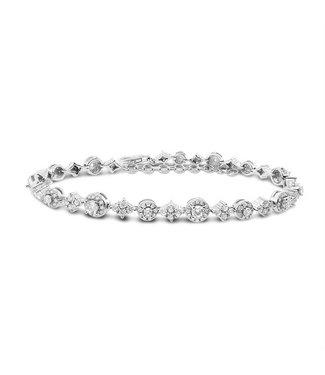 Silver Rose Armband Nila