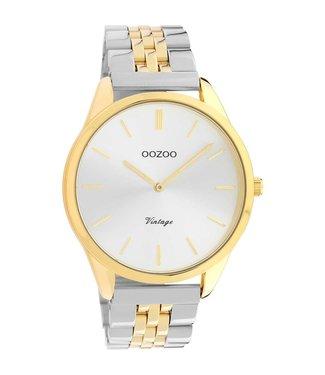 Oozoo Uurwerk Tess Gold/Silver 38mm