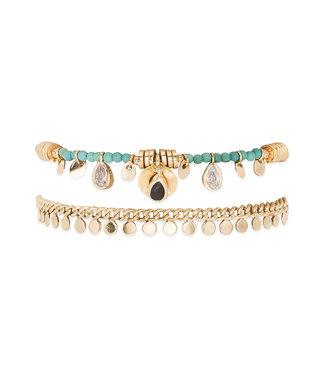 Hipanema Armband Hellie Turquoise