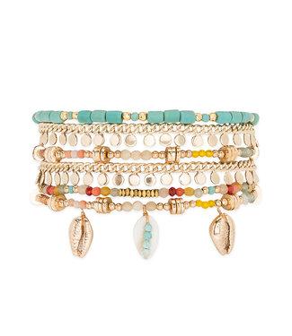 Hipanema Armband Appollon Turquoise