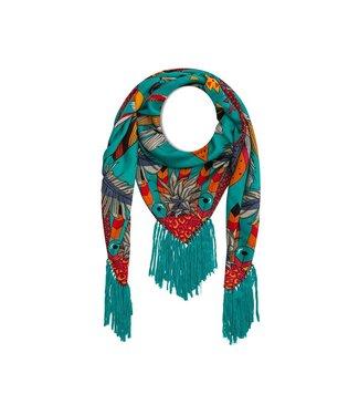 Hipanema Sjaal Ara Turquoise