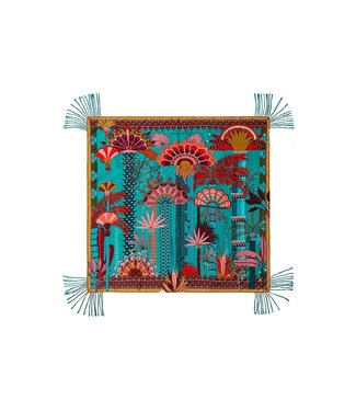 Hipanema Sjaal palmito turquoise