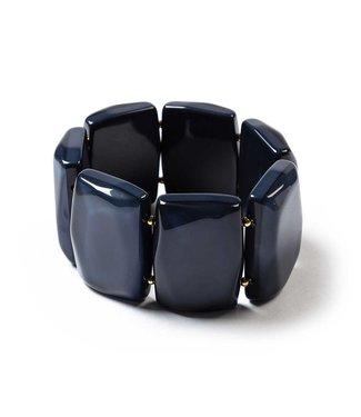 Laurence Delvallez Armband Eek blue