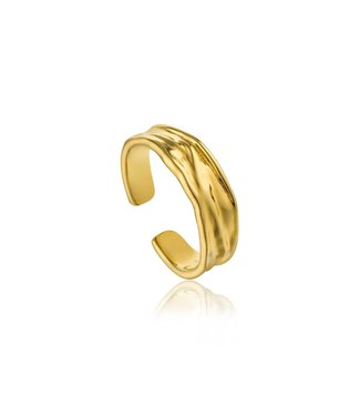 Ania Haie Ring Crush gold