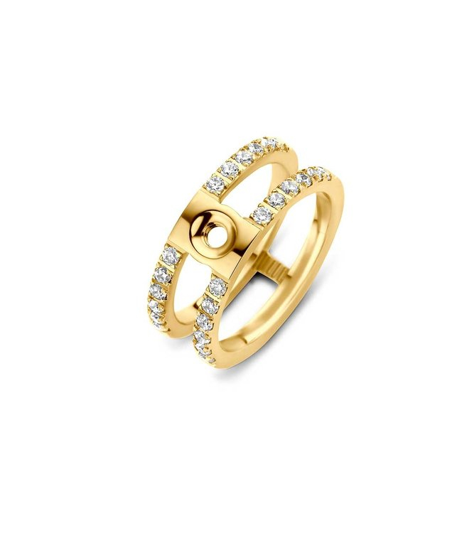 MelanO Twisted Trista cz ring