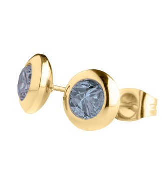 MelanO Magnetic earrings Jeans Blue