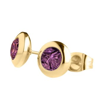 MelanO Magnetic earrings Purple