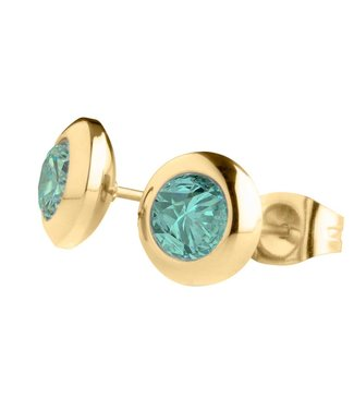 MelanO Magnetic earrings Turquoise
