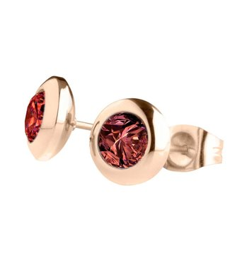 MelanO Magnetic earrings Dark Red