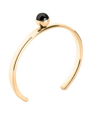 MelanO Twisted bangle, Gold