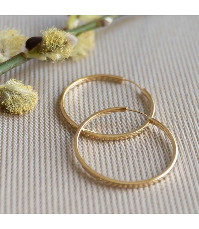 CASA Collection Oorring SNAP THIN GOUD