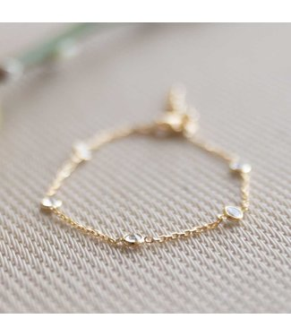 CASA Collection Armband Pruts goud AB