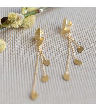 CASA Collection Oorring Sugarbowl goud