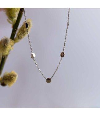 CASA Collection Halsketting Bizou zilver CL