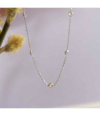 CASA Collection Halsketting Pruts zilver