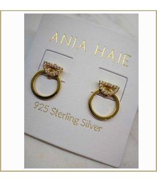 Ania Haie Oorring Shimmer Pavé hoop Jackets