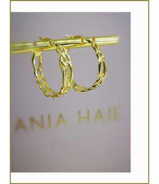 Ania Haie Oorring Figaro Chain hoop