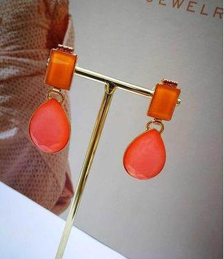 Souvenirs de Pomme Oorring Playa Neon Orange