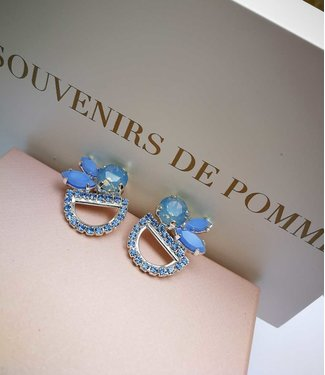 Souvenirs de Pomme Oorring Moon Shortie Light blue