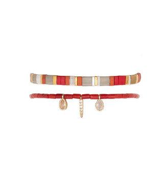 Hipanema Armband Vaiana Red