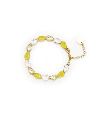 Paviè Armband Salvatora Yellow