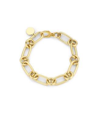 Souvenirs de Pomme Armband Lima Small Chain gold